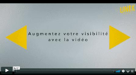 Augmentez votre visibilité grâce à la vidéo