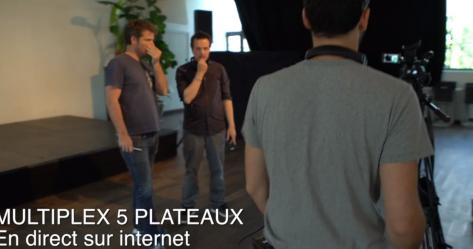 Captation d'évènement en live sur internet pour France Active